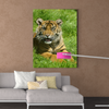 Cute tiger animal class decorative painting 030