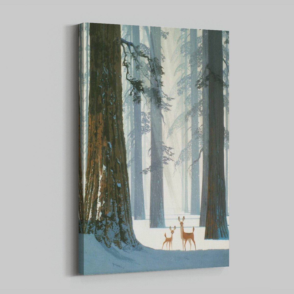 Fawn tree - landscape decoration painting - living room