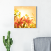 Beautiful lily plant decoration painting 002