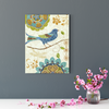 Beautiful bird and bird decorative painting 002