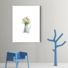 Beautiful flower plant decoration painting 001