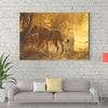 Strong lion animal decorative painting 052