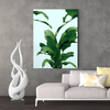 Green leaf plant decoration painting 002