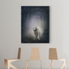 Cute wolf animal decorative painting 067