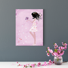 Happy flower fairy character decorative painting 003