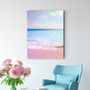 Pink sea marine decoration painting 001