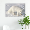 Cute white fox animal decoration painting 044