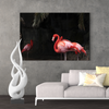 Beautiful flamingo bird decorative painting 071