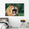 Roaring lion animal class decorative painting 029