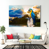 Beautiful parrot bird decorative painting 066