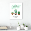 Beautiful cactus plant decoration painting 008