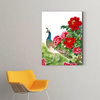 Beautiful peony flower plant decoration painting 002
