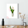 Beautiful small potted plant decoration painting 001