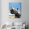 Strong rhinoceros animal decoration painting 053