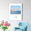Monet SEAVIEW  Decorative paintings 004