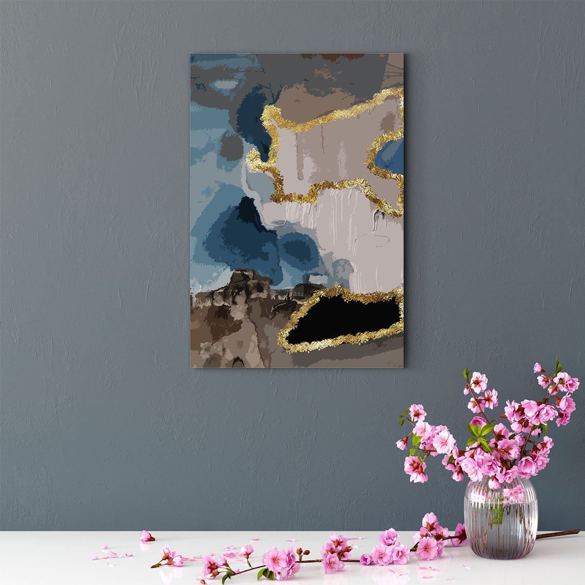 Fascinating color abstract decorative painting 008