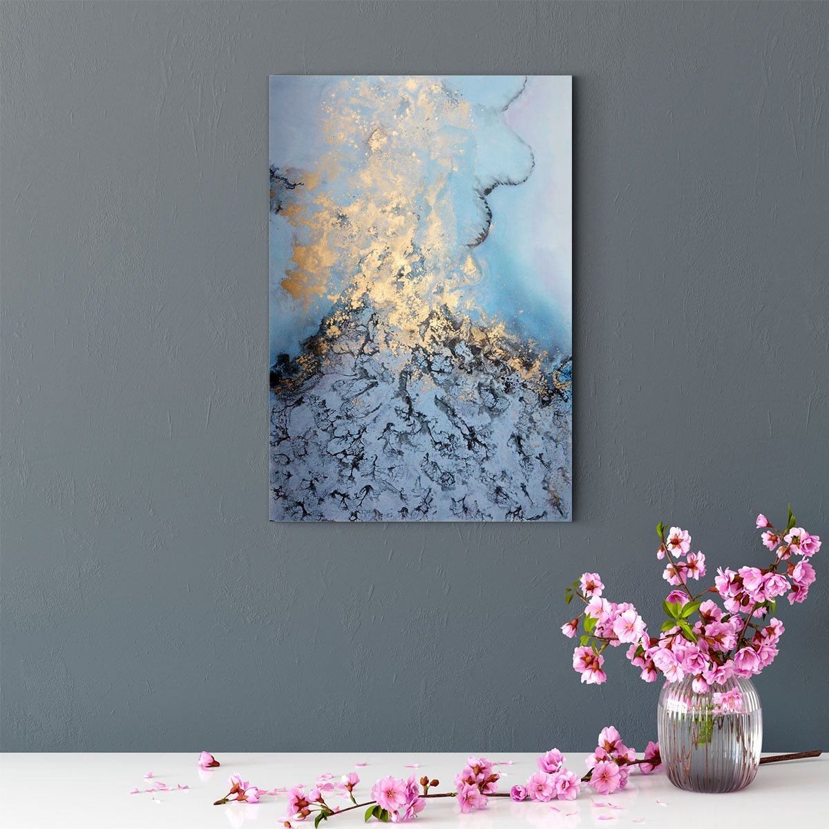 Fascinating color abstract decorative painting 010