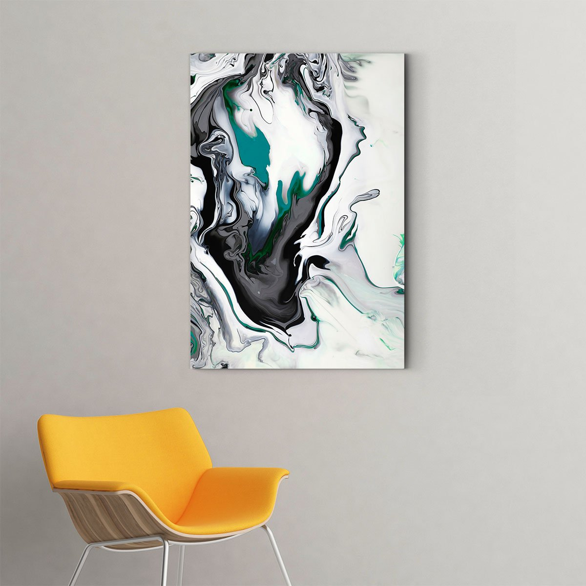 Elegant art abstract decorative painting 001