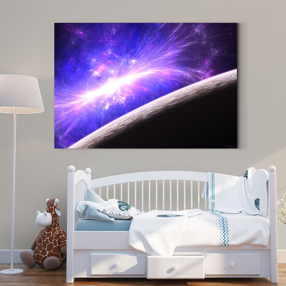The radiance of the planet decorative painting 003
