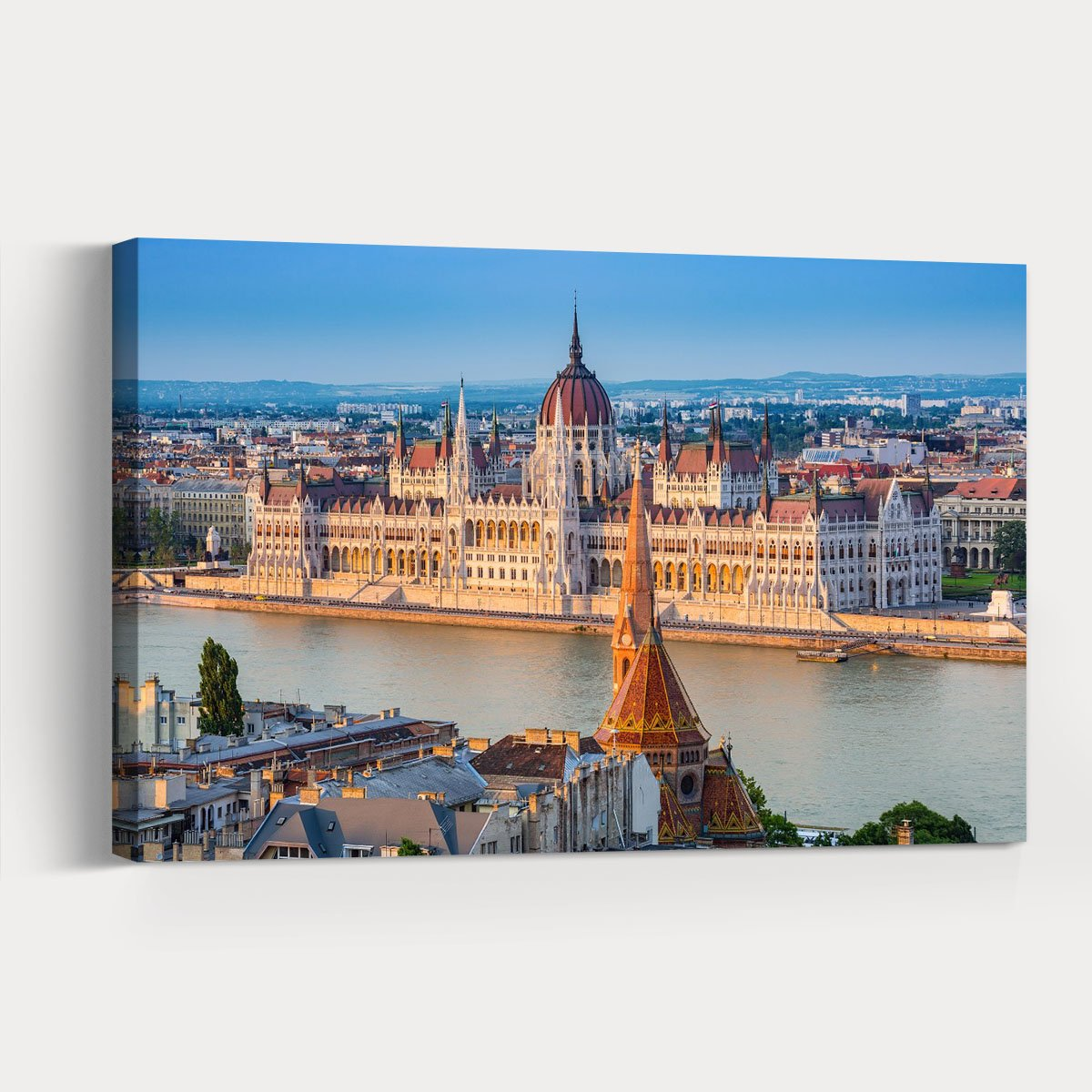 Budapest, capital of Hungary City Scenery Decorative Painting 002