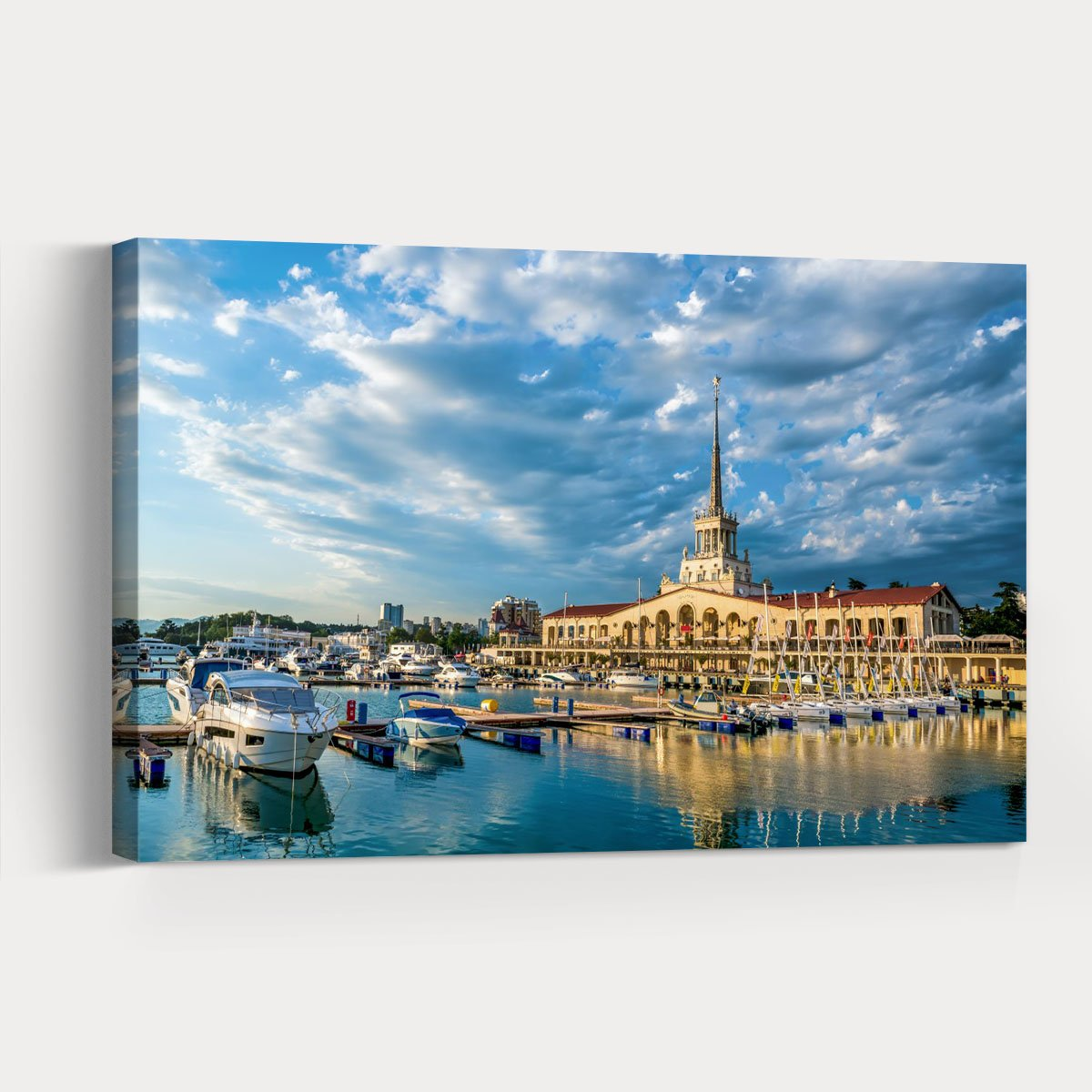 Beautiful St. Petersburg City scenery Decorative painting 005