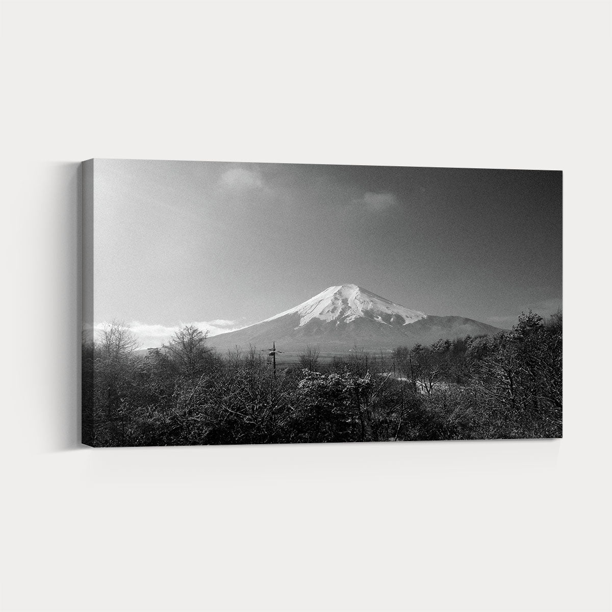 0a9684456 Scenic mountain scenery black and white decorative painting 006 ...
