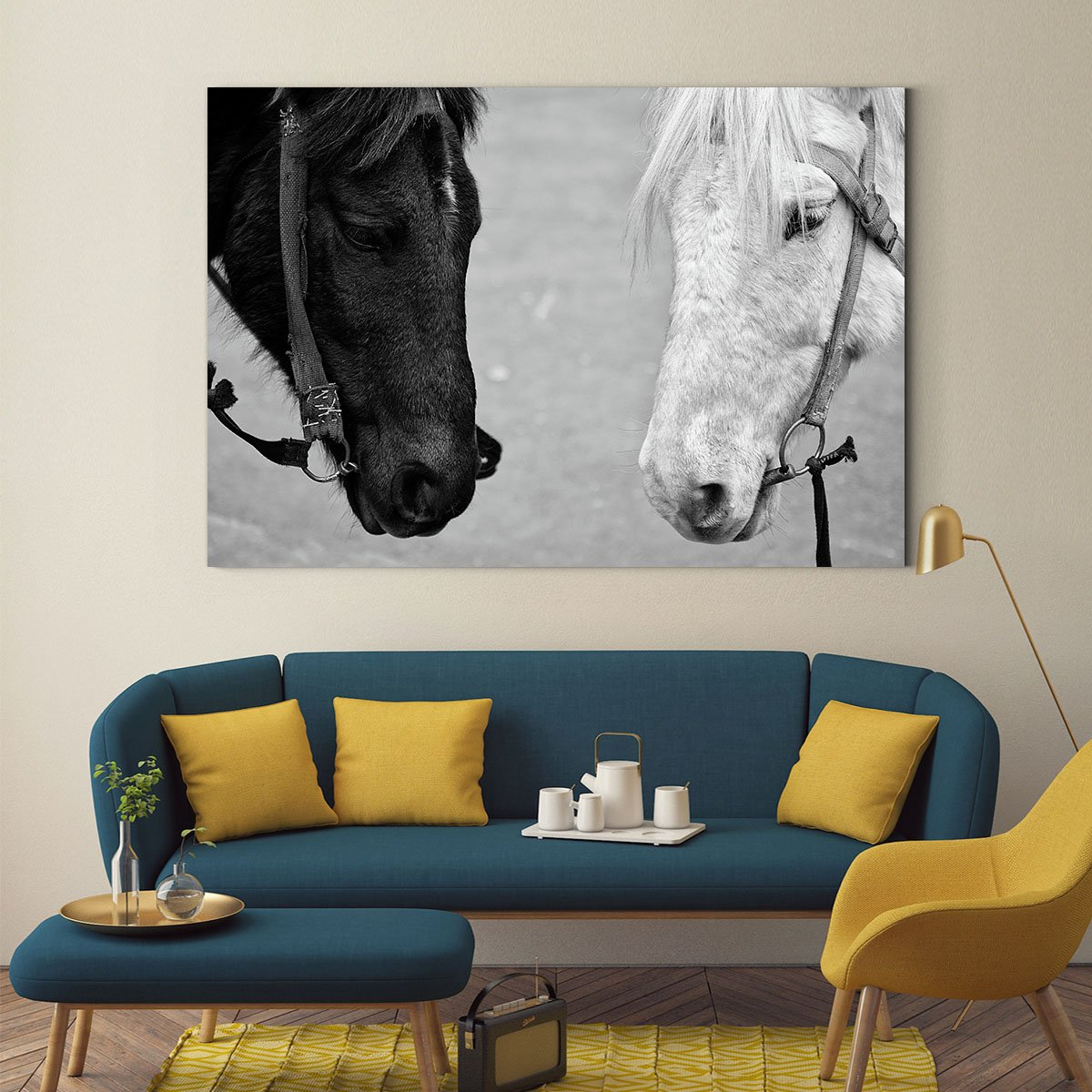 Handsome horse animal decorative painting 005