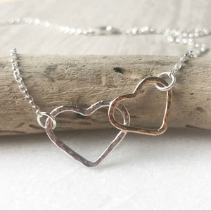 Twin Heart Necklace