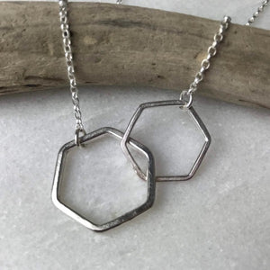 Long Honeycomb Necklace