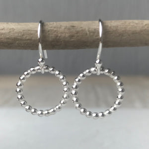 Beaded Halo Earrings