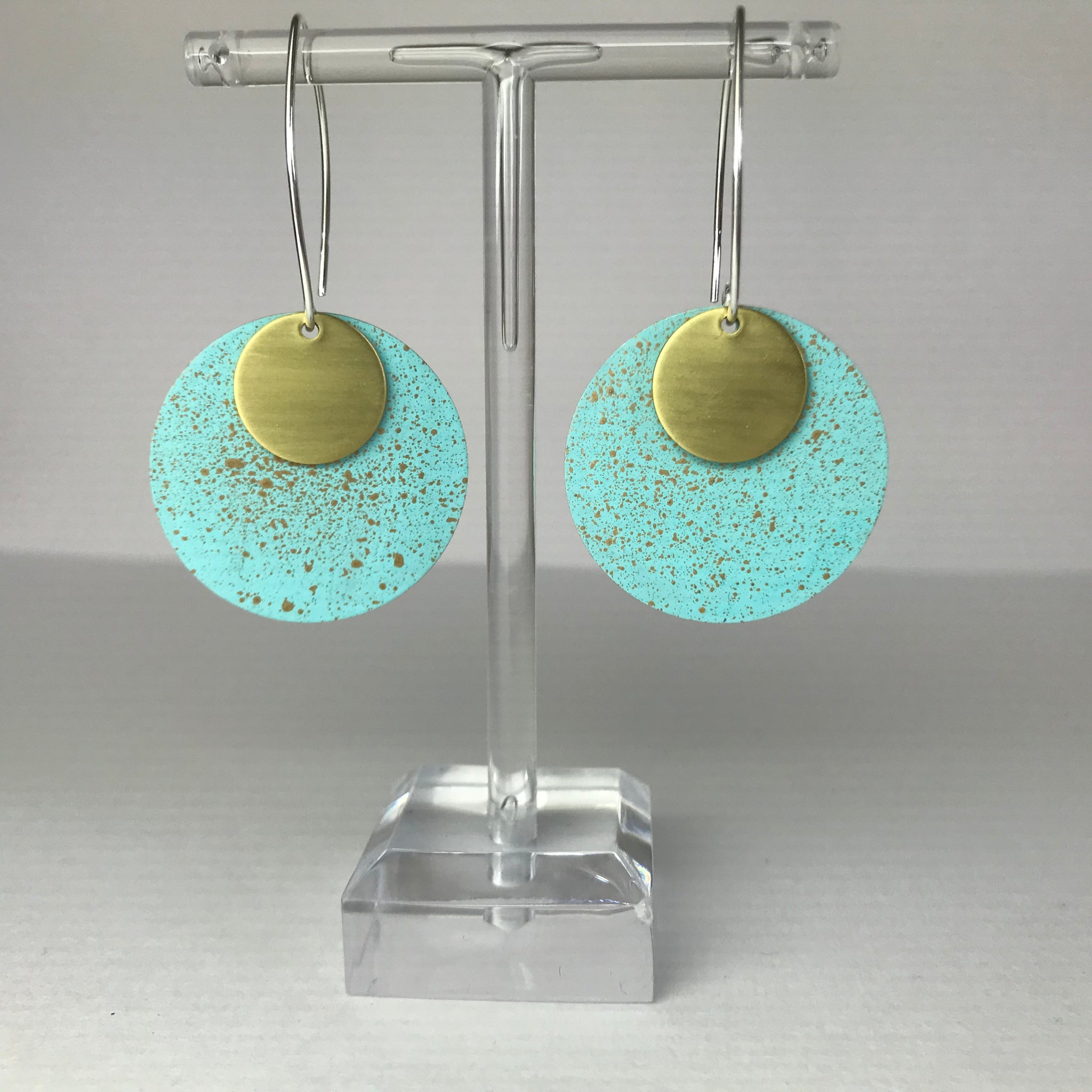 El Medano Large Dot Earrings