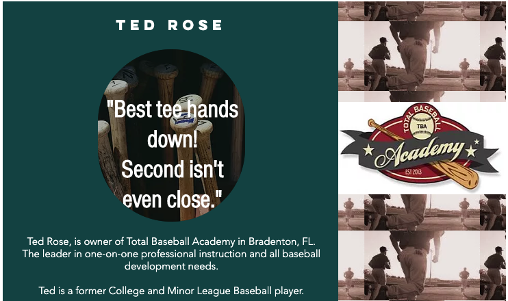 Ted Rose - Total Baseball Academy - OutWest Baseball Testimonial
