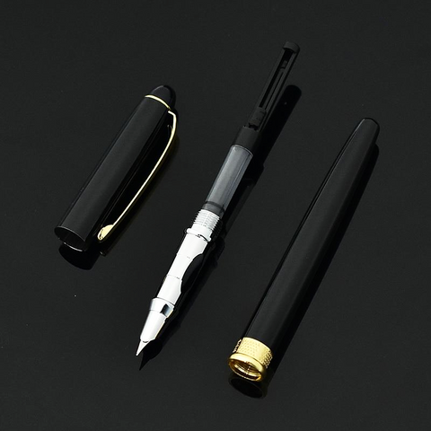 Image of Gold & Silver Plated Luxury Fountain Pen