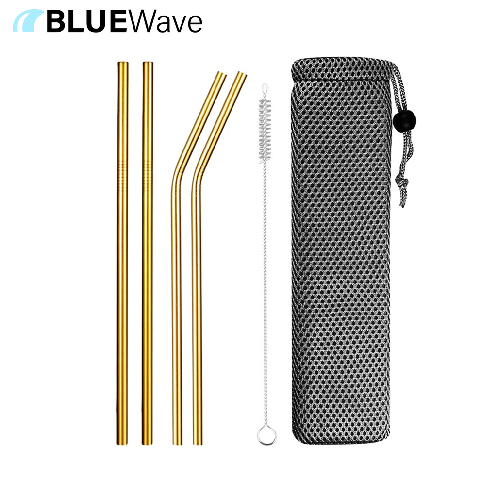 BlueWave™ Eco Friendly Reusable Straw