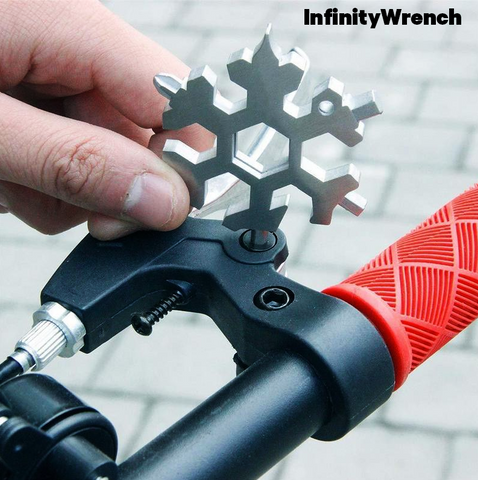 Image of InfinityWrench™ Snowflake Multi Tool