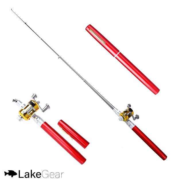 2 LakeGear™ Portable Telescopic Fishing Pole