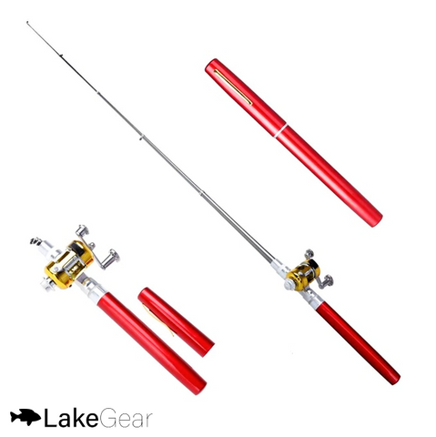 Image of 2 LakeGear™ Portable Telescopic Fishing Pole