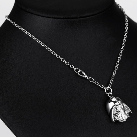 Image of Darth Vader Silver and Dark Ion Necklace