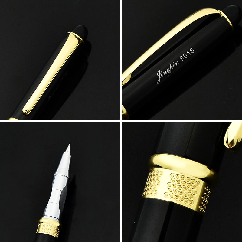 Gold & Silver Plated Luxury Fountain Pen