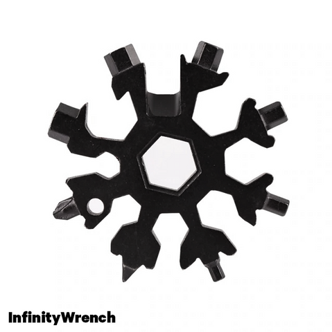 InfinityWrench™ Snowflake Multi Tool