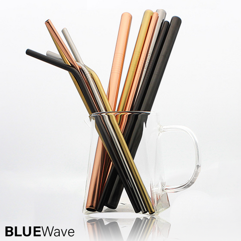 Image of BlueWave™ Eco Friendly Reusable Straw