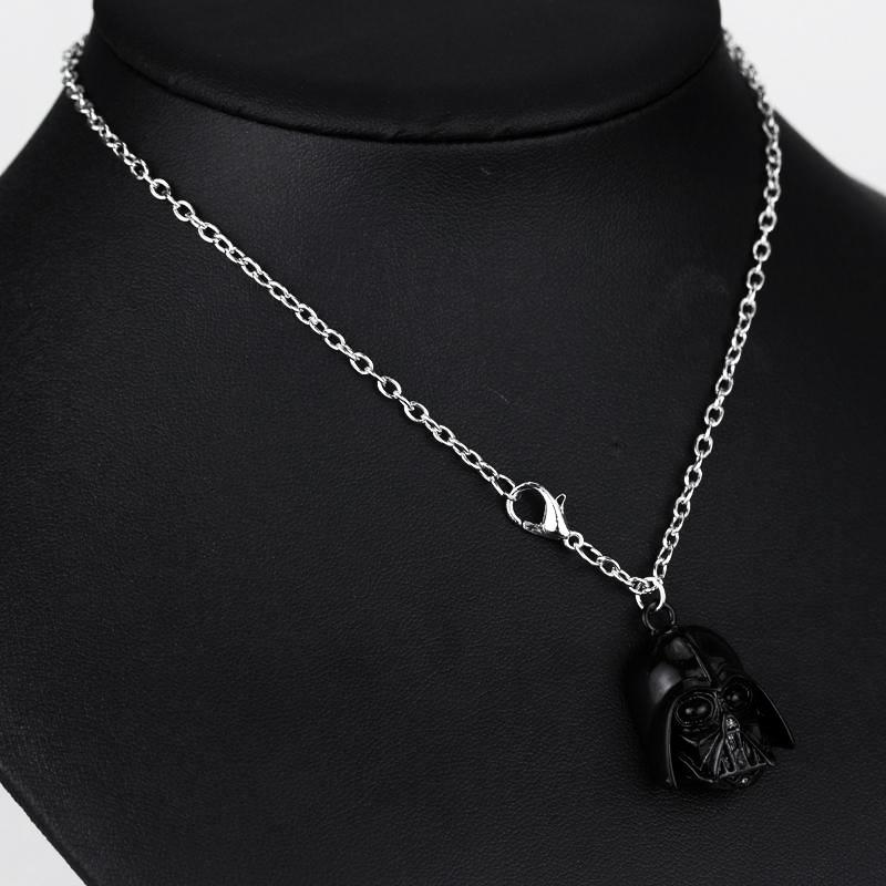 Darth Vader Silver and Dark Ion Necklace