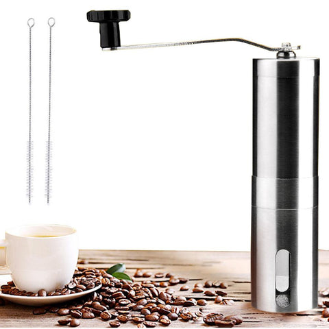 Image of Stainless Steel Manual Coffee Grinder