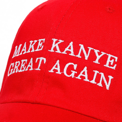 Image of Make Kanye Great Again Hat
