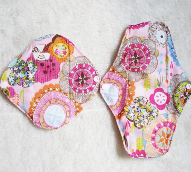 Eco Friendly Reusable Pads