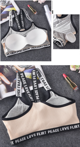 Image of Peace & Love Sports Bra