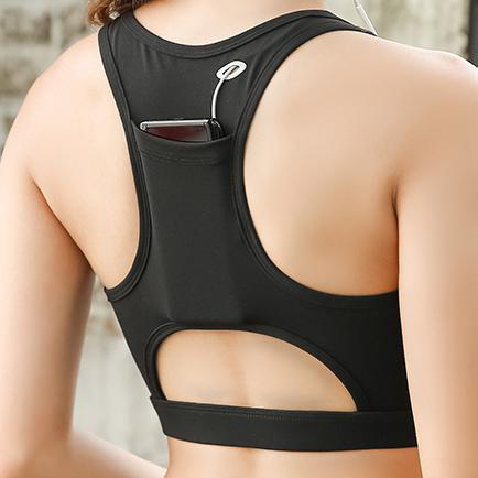 "Image of ""Hands Free"" Pocket Sports Bra"