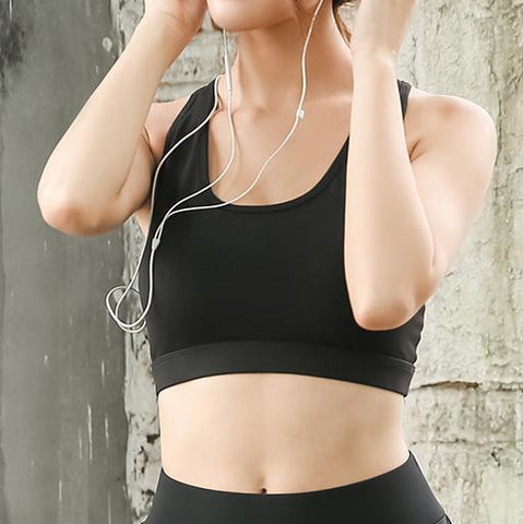 """Hands Free"" Pocket Sports Bra"