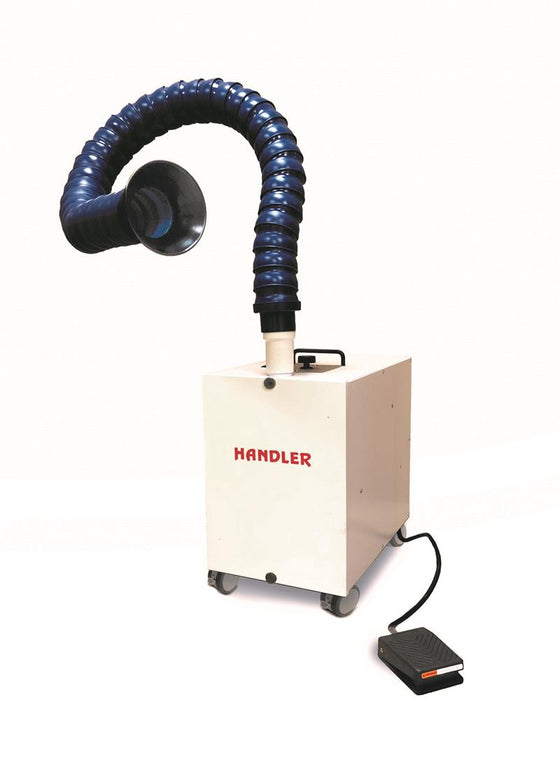 Handler Aero Series Extraoral Dental Mobile Suction Unit for Aerosols #42ESU - Made in USA
