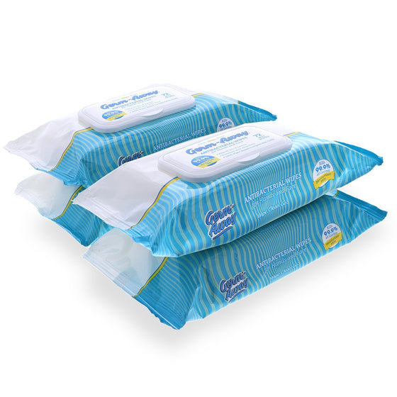 Antibacterial Hand & Face Wipes